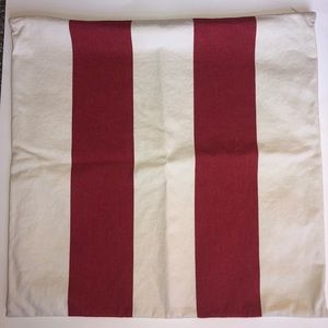 Pottery Barn Striped Pillowcase 20 X 20 Inches